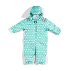 Kombinezon niemowlęcy ocieplany Ducksday, Ben mint star, rozmiar 80 Mati & Maks Kids - odzież dziecięca firmy Ducksday