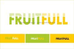 FRUITFULL Logo Design http://bit.ly/Ld5vB2 #Einshtein #Logo #Design