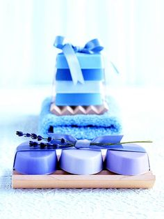 Fragrant Handmade Soaps  These handmade soaps make gifts that are both welcome and practical.