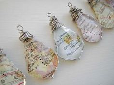 This listing is for 1 RANDOM map necklace and ships immediately. The map is an original clipping from either a map or atlas left over from my other map designs. Resin Jewelry, Jewelry Crafts, Handmade Jewelry, Jewellery, Map Crafts, Resin Crafts, Map Necklace, Gold Necklace, Bijoux Diy
