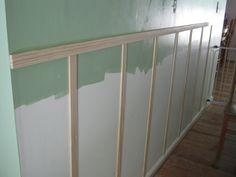 Paint Speckled Pawprints: A Hallway Reveal