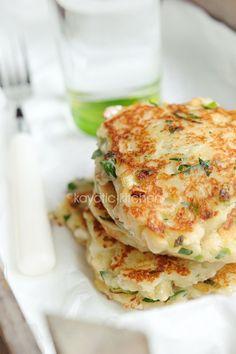 Recipe: Feta, Scallion and Potato Cakes - http://www.electricmaninc.com/