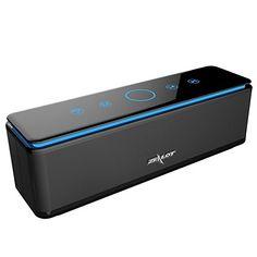 ZEALOT S7 Enceinte Bluetooth Portable Batterie Externe 10000mAh 4 Haut-Parleurs 24 Heures d'Autonomie Subwoofer Basses Puissantes Contrôle…