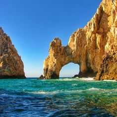 Lagoons and coves in #CaboSanLucas, a must-see Mexican destination. Photo courtesy of mthiessen on Instagram.