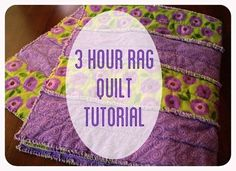 Sewing For Beginners Then using your rotary cutter and cutting mat, cut a straight edge around the entire quilt to clean up the edges. Then sew a seam all the - A simple flannel rag quilt tutorial on how to make a rag strip quilt tutorial in three hours. Quilting For Beginners, Quilting Tips, Quilting Tutorials, Sewing For Beginners, Quilting Projects, Sewing Tutorials, Sewing Hacks, Modern Quilting, Sewing Tips