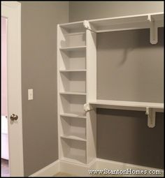 Like the small sheves on the side and hanging area . . . needs something on top so space is not wasted. Could add a door to the shelves and then a mirror inside.