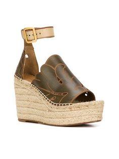 Chloé 'Isa' wedge sandals
