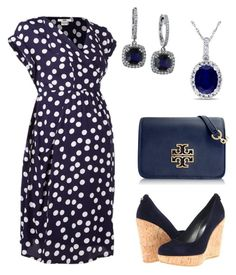 """""""Out for lunch: maternity look"""" by alexandriahart31 ❤ liked on Polyvore featuring Effy Jewelry, Stuart Weitzman, Tory Burch and Allurez"""