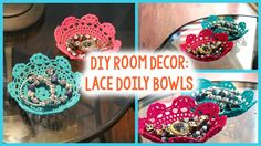 Check out this fun DIY Lace Doily Bowl tutorial. You will not believe how colorful these can be and EASY! We hope that you enjoy.