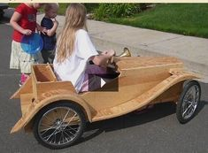 Where to Get Maker Ideas From?: 18 Steps Soap Box Derby Cars, Soap Box Cars, Wooden Car, Wooden Toys, Wood Bike, Pedal Cars, Diy Car, Go Kart, Old Cars