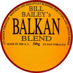Tobacco Pipe Smoking, Tobacco Pipes, Bill Bailey, Baileys, Tins, Advertising, Label, Clothing, Accessories
