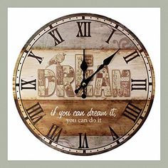 British Style Clock - Dream by Health&welbeing from The Tree Of Life, http://www.amazon.co.uk/dp/B00E74Q95K/ref=cm_sw_r_pi_dp_x_B0Eqzb3ZQY0S7