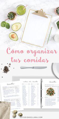 Cómo organizar el menú semanal - Ideas Lunch Delivery, Great Recipes, Healthy Recipes, Batch Cooking, Fitness Planner, Menu Planning, Party Time, Healthy Lifestyle, Recipies
