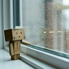Never Too Late Amazon Box Danbo Robot Sad Robots