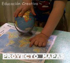 Proyecto Mapas | Educación Creativa