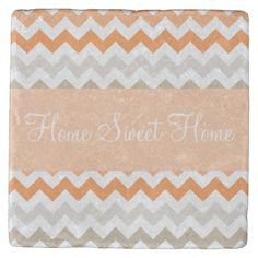 Shop Seashell Chevron Stripes Stone Coaster created by Personalize it with photos & text or purchase as is! Tabletop Accessories, Stone Coasters, Custom Coasters, Looking Stunning, Hostess Gifts, Sea Shells, House Warming, Your Design, Chevron
