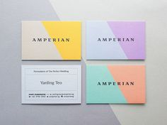 Business card with 150 colour variations, by... | Art & Design | Nae-Design Sydney Interactive Blog