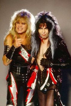 Blackie Lawless and Chris Holmes