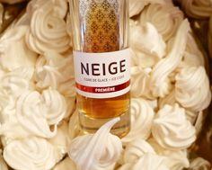 Ice cider Neige meringue recipe