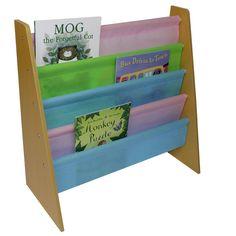 Harriet Bee Robbie 60cm Book Display | Wayfair.co.uk Childrens Bookcase, Storing Books, Wooden Books, Cube Unit, Bookshelves Kids, Book Organization, Types Of Doors, Giraffe Print, Shape Design