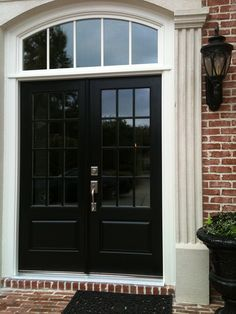 Fresh Double Doors Front Entry