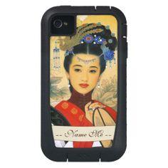 Classic young beautiful chinese princess Guo Jin Case-Mate Tough Xtreme iPhone 4 Case