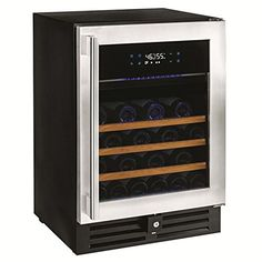 N'FINITY PRO HDX 46 Dual Zone Wine Cellar -Stainless Steel Door >>> This is an Amazon Affiliate link. Check out this great product.
