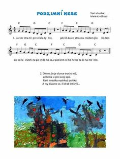 Fall Preschool, Kids Songs, How To Make, Sheet Music, Nursery Songs