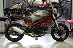 CafeRacerDreams: Ducati Monster 695 by Cafe Racer Dreams Ducati Cafe Racer, Inazuma Cafe Racer, Cafe Racer Helmet, Cafe Racer Girl, Custom Cafe Racer, Cafe Racer Bikes, Cafe Racers, Ducati Monster 620, Ducati Monster Custom