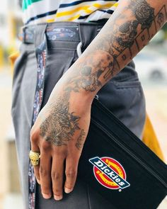 Everyday is a day to me - Dickies Workwear, Art Tattoos, Street Styles, Photo Art, Streetwear, Day, Creative, Modern, Fashion