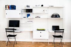 Home Archives - Page 2 of 7 - I Love Designer Furniture Scandinavian Shelves, String Shelf, String System, Adjustable Height Desk, Organize Your Life, Home Studio, Spare Room, Diy Home Improvement, Home Office