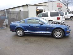 2007 Ford Mustang Premium Coupe 4.0L 90k Miles Ball Joint Brake Pads Brake Rotors Brakes Catalytic Converter Cold Air Intake Control Arm Exhaust Manifold Fog Light Fuel Tank Grille Headlight Mirror Oxygen Sensor Shock Absorber Shocks Tail Light Valance Panel Wheel Hub Window Motor Window Switch