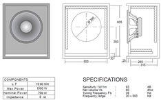 Resultado de imagen para subwoofer box design for 12 inch Woofer Speaker, Speaker Plans, Music Speakers, Speaker System, Horn Speakers, 12 Inch Subwoofer Box, Subwoofer Box Design, Speaker Box Design, The Plan