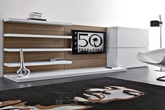 People 78 Modern Wall Unit by Pianca #17841
