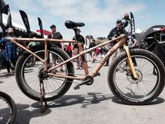 Twitter / xtracycle: Calfee's bamboo midtail - ...