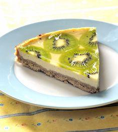 Citronový koláč s kiwi