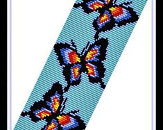 Anne, 18 Bead loom patterns Pins you might like Loom Bracelet Patterns, Seed Bead Patterns, Peyote Patterns, Loom Bracelets, Beading Patterns, Bead Loom Designs, Beadwork Designs, Loom Bands, Inkle Loom