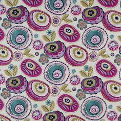 Anemone Made to Measure Curtains Fuschia Curtain Store, Curtain Fabric, Roman Blinds, Curtains With Blinds, Ready Made Eyelet Curtains, Made To Measure Curtains, Roller Blinds, Uk Fashion, Quilts