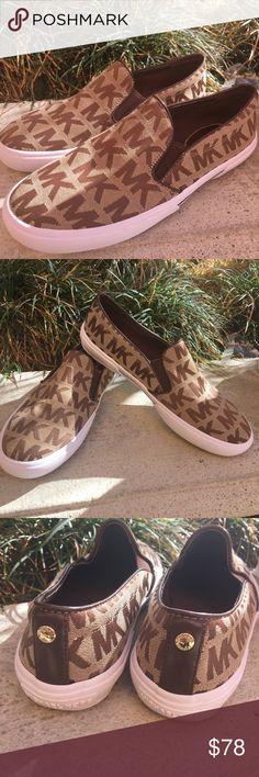 MK Sneakers New Cute comfortable MK canvas sneakers new no box Michael Kors Shoes Sneakers