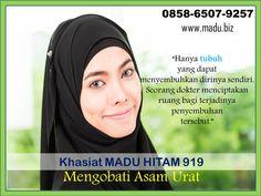Madu hitam 919 adalah madu yang memiliki khasiat dan manfaat sebagai obat tradisional alternatif. Madu yang memiliki rasa pahit ini,  telah banyak digunakan sebagai suplemen kesehatan tubuh. Khasiat madu hitam 919 ini adalah mempercepat proses kesembuhan berbagai penyakit. Kami melayani pengiriman ke seluruh Indonesia menggunakan JNE. Pengiriman dari kota Semarang, Jawa Tengah Cp 0858.6507.9257 Whatsapp Messenger, All Over The World