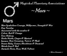 Planets Associated With Tuesdays – Mars Mars Astrology, Celtic Astrology, Astrology Planets, Chinese Astrology, Astrology Zodiac, Zodiac Signs, Astrology Houses, Wicca Witchcraft, Hoodoo Spells