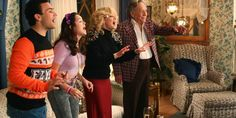 The Goldbergs crack you up, and you secretly love their style. Here's how you can get the look in Celebrity Houses, Celebrity Style, Erica Goldberg, The Goldbergs, Fashion Tv, Get The Look, Design Inspiration, The Originals, Celebrities