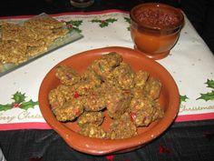 Mini onion bhajis Raw Food Recipes, Guacamole, Onion, Mexican, Mini, Ethnic Recipes, Raw Recipes, Onions, Mexicans