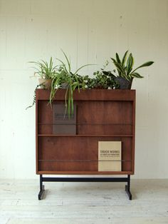 AFROMOSIA CABINET / PARTITION ++ TRUCK
