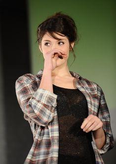 The shiny Gemma Arterton ...Classy Hairstyles...