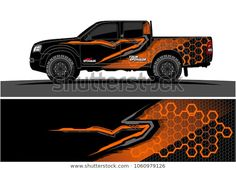 Abstract graphic for car, boat and vehicle wraptruck Graphic kit. Abstract graphic for car, boat and vehicle wrap Lifted Ford Trucks, New Trucks, Nissan 4x4, Eco Friendly Cars, Boat Wraps, Truck Decals, Mustang Cars, Car Covers, Car Ford