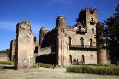 Castello di Gondar, l'antica capitale imperiale etiope. #Gondar #Etiopia #NomadiModerni