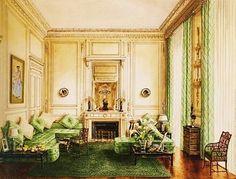 1939 - Duke & Duchess Of Windsor's Paris Apartment