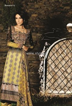 Sana & Samia Embroidered Cotton Collection 2012 by Lala Pictures