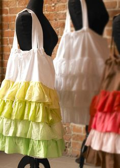 adorable-to make Ruffled Laundry Bag (so feminine!)  from www.LaylaGrayce.com $58.00 or less when handmade. :)